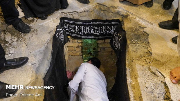 تشییع پیکر آیت الله سید محمدحسین حسینی زابلی