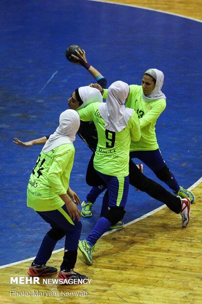 Final match of Iran's Women Handball League