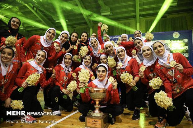 دیدارFinal match of Iran's Women Handball League پایانی لیگ هندبال بانوان