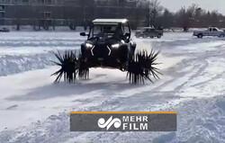 خودروی مخصوص بوران و یخبندان