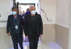 حضور رئیس بنیاد شهید در شهر سیسخت