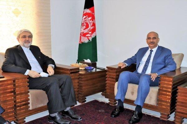 Afghan Peace Talks reviewed by Iranian, Afghan envoys