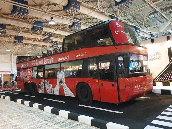توقف اتوبوس گردشگری در نمایشگاه/ عدم برپایی چادرها