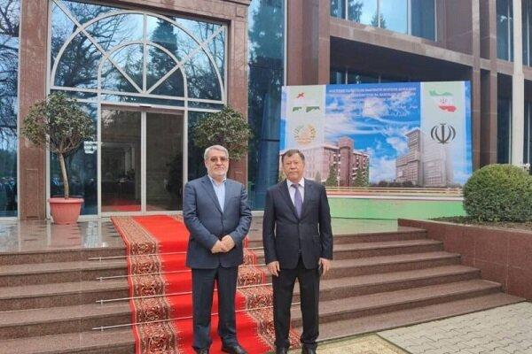 Tehran, Dushanbe stress coop. in fight against terrorism