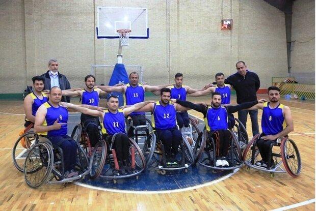 خوزستان نایبقهرمانی جام حذفی بسکتبال با ویلچر شد