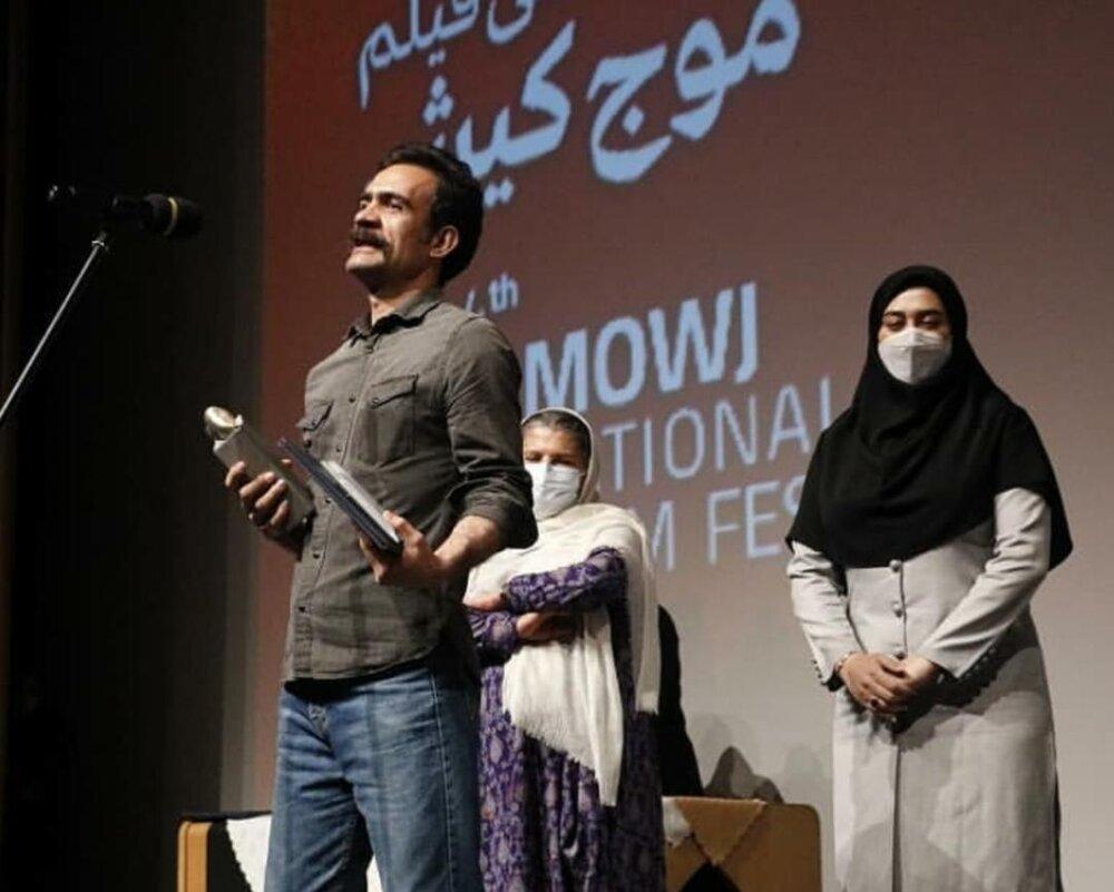 فیلمساز شیرازی جایزهاش را به زنان ایلِ قشقایی تقدیم کرد