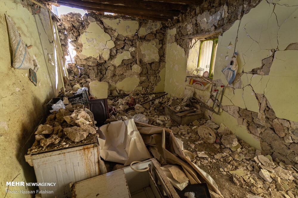 عضو مجلس خبرگان رهبری از مناطق زلزله زده شهرستان دنا بازدید کرد