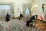 Rouhani receives new ambassadors' credentials (+Details)