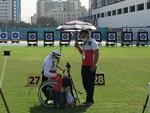 زهرا نعمتی در مسابقات پاراتیراندازی با کمان امارات فینالیست شد