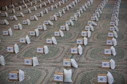 توزیع ۵۰۰ بسته معیشتی میان نیازمندان در ایذه