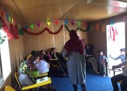 برگزاری کلاس های کمک درسی برای کودکان کار توسط دختران جهادی/ اشتغال زایی برای زنان سرپرست خانوار