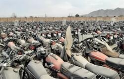 توقیف ۷۰ موتورسیکلت متخلف در ایلام