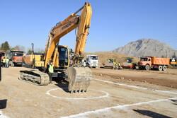 آغاز عملیات اجرایی پروژه ۱۰۶۴واحدی طرح «اقدام ملی تأمین مسکن»