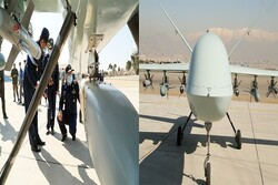 Giant Kaman 22 drones unveiled by Iran air force