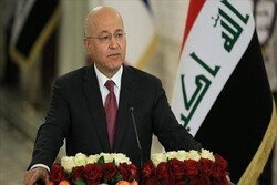 برهم صالح: بغداد خواستار حضور دائم نظامیان خارجی در عراق نیست