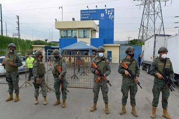 ایکواڈور کی 3 جیلوں میں فسادات کے نتیجے میں اب تک 75 قیدی ہلاک