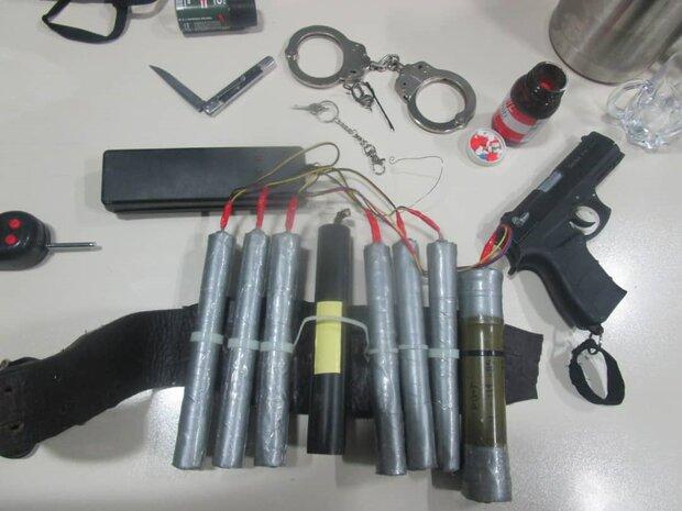 Suicide bomber arrested near Tehran  (+Photo)