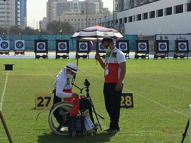 Iranian Para archer qualified for Fazza Para Archery Tournam