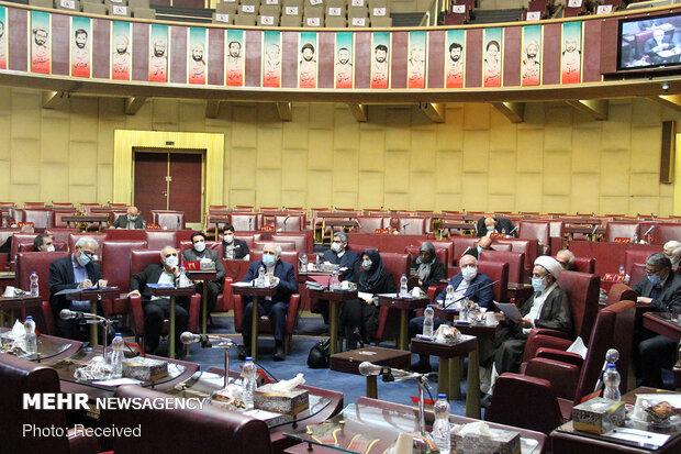 جلسه کمیسیون مشترک مجمع تشخیص برای بررسی پالرمو و سی اف تی