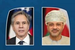 رایزنی وزیران خارجه آمریکا و عمان