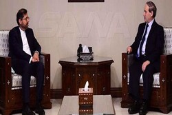 Iran, Syria discuss strengthening of friendly ties