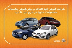 اجرای همزمان دو طرح فروش محصولات سایپا در قالب طرح عید تا عید