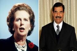سکوت «مارگارت تاچر» در برابر صدام به دلیل قراردادهای تسلیحاتی
