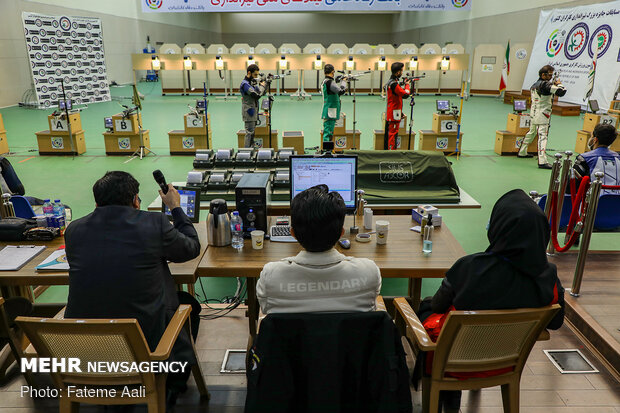 Workers shooting competition