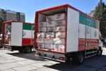 ارسال نخستین محموله امدادی هلال احمر کرمانشاه به مناطق زلزله زده سی سخت