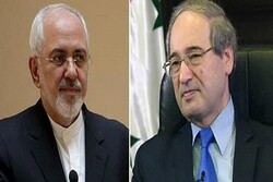 Iranian, Syrian FMs discuss means of enhancing bilateral ties