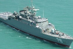 'Jamaran' Destroyer completely built by domestic experts