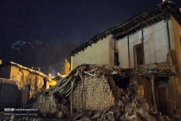 خطر ریزش دهها خانه روستایی در مناطق زلزله زده شهرستان دنا