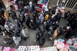 تبریز کے بازار کی صورتحال