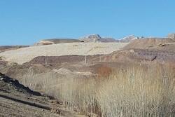 رانش درسد باطله معدن انجرد اهر ونشت موادمعدنی شیمیایی به رودخانه