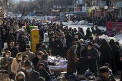 حال و هوای بازار تبریز در وضعیت زرد کرونایی