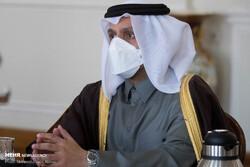 Qatari FM meets with E3 envoys to discuss JCPOA