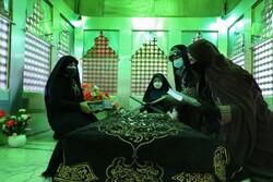آیین غبار روبی ضریح مطهر امامزاده عبدالحق(ع) زیرآب