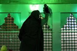 غبارروبی وعطرافشانی امامزاده عبدالحق سوادکوه