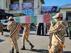 پیکر مطهر شهید مدافع امنیت امروز در اصفهان تشییع میشود