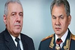 وزرای دفاع روسیه و ارمنستان تلفنی گفتگو کردند