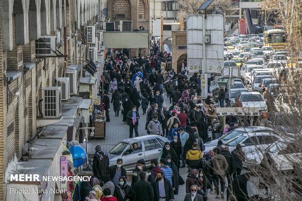وضعیت بازار تبریز در روزهای کرونایی