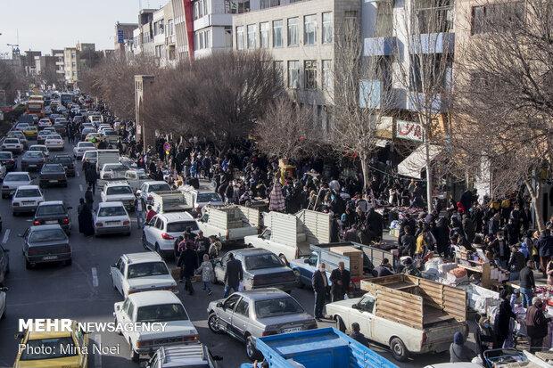 وضعیت بازار تبریز در آخرین روزهای زمستان ۹۹
