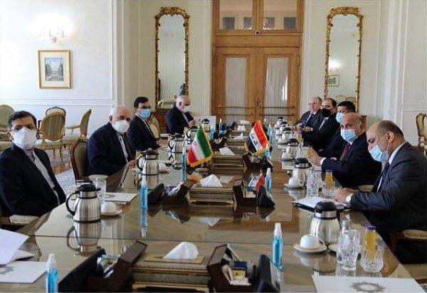 FM Zarif, Iraqi counterpart discuss ties in Tehran