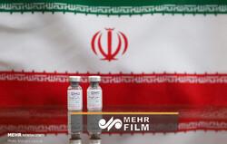 """İran aşısı """"Razi Cov Pars""""ın insan üzerindeki ilk denemesinden gürüntüler"""