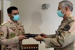 سرباز وظیفه مرزبانی پاوه مرزیار افتخاری نیروی انتظامی شد