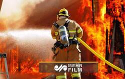 حادثه آتشسوزی در فاز ۱۱ شهر پردیس