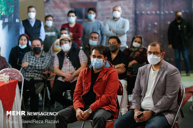 مراسم آغاز تصویربرداری مجموعه طنز تلویزیونی «دست انداز»