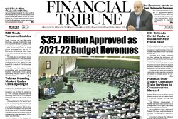 Front pages of Iran's English-language dailies on March 1