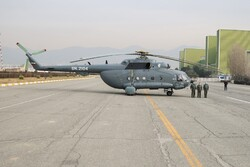 Iran Army Air Force receives military aircraft, helicopters