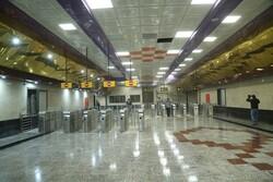 اعلام ویژه برنامههای رمضانی در ایستگاههای منتخب مترو تهران
